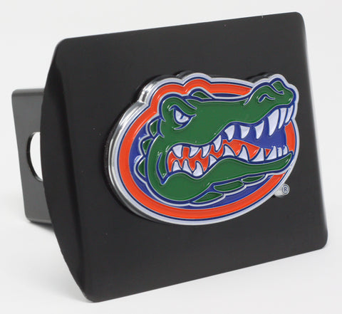 "Florida Color Metal Hitch Black 3.4""x4"""
