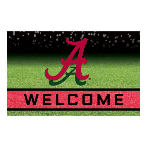University of Alabama Crumb Rubber Door Mat