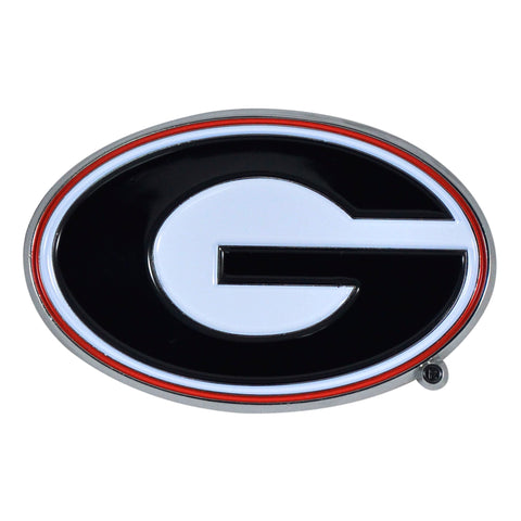 "Georgia Color Metal Emblem 2""x3.2"""