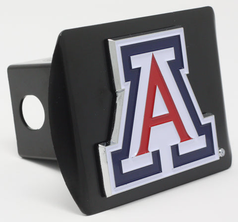 "Arizona Color Metal Hitch Black 3.4""x4"""