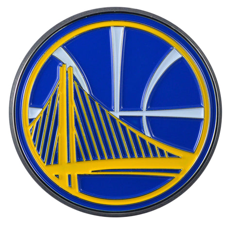 "Golden State Warriors Color Metal Emblem 2.7""x3.2"""