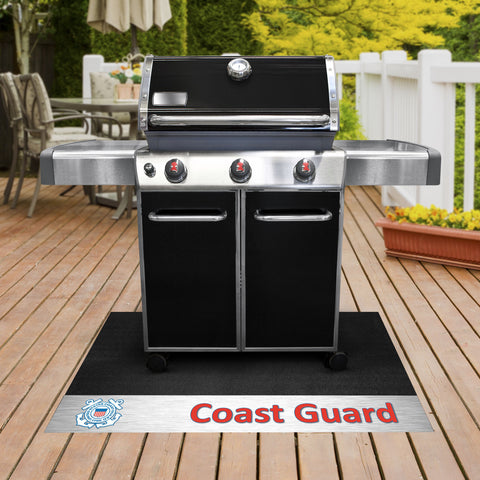 U.S. Coast Guard Grill Mat