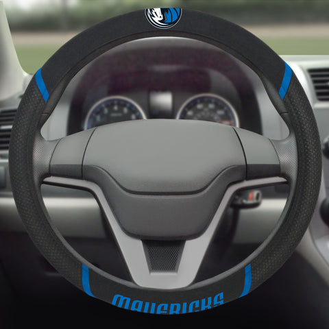 "Dallas Mavericks Steering Wheel Cover 15""x15"""