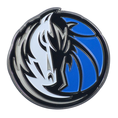 "Dallas Mavericks Color Metal Emblem 3""x3"""