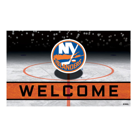 New York Islanders Crumb Rubber Door Mat