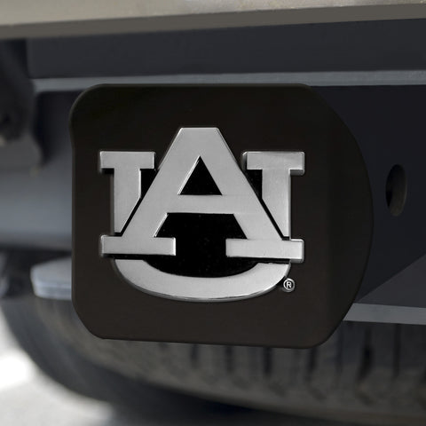 "Auburn Black Hitch Cover 4 1/2""x3 3/8"""