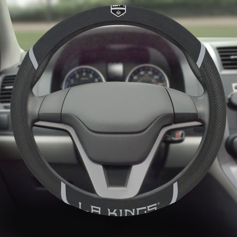 "Los Angeles Kings Steering Wheel Cover 15""x15"""