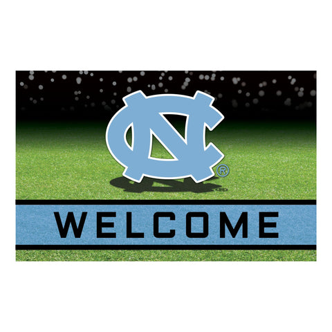 North Carolina UNC Crumb Rubber Door Mat