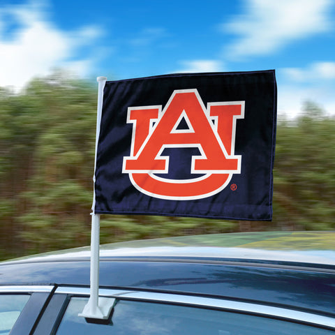 "Auburn Tigers 11""x14"" 2-Sided Window Mounted Car Flag"