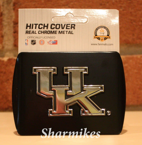 Kentucky Wildcats Black Hitch Cover