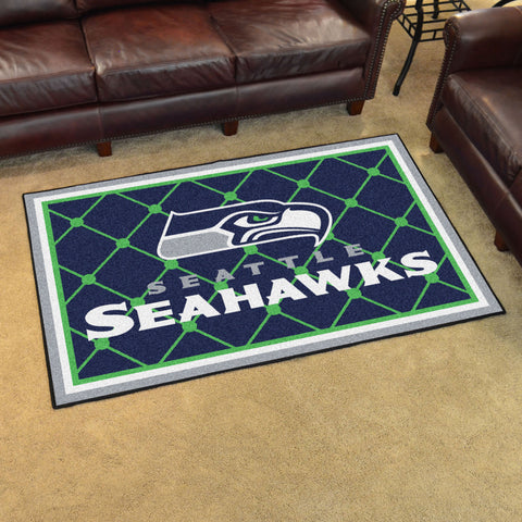 Seattle Seahawks 4'x6' Rug