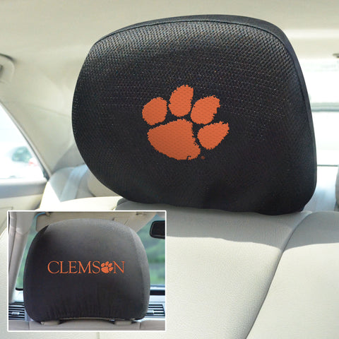 Clemson University Head Rest Covers