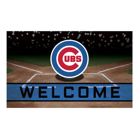 Chicago Cubs Crumb Rubber Door Mat