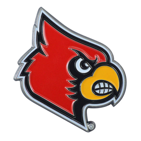"Louisville Color Metal Emblem 2.9""x3.2"""