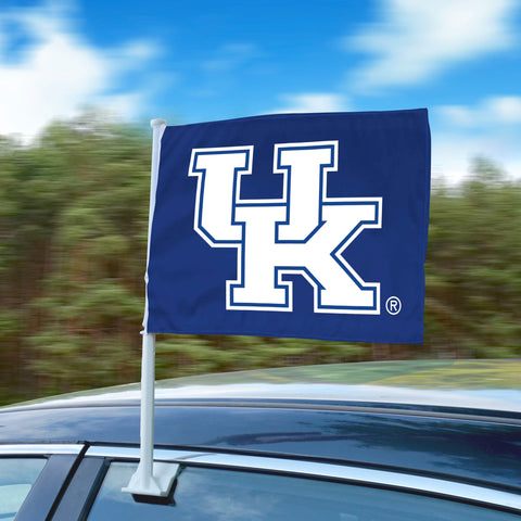 "Kentucky Wildcats 11""x14"" 2-Sided Window Mounted Car Flag"