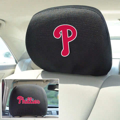 Philadelphia Phillies Embroidered Head Rest Covers