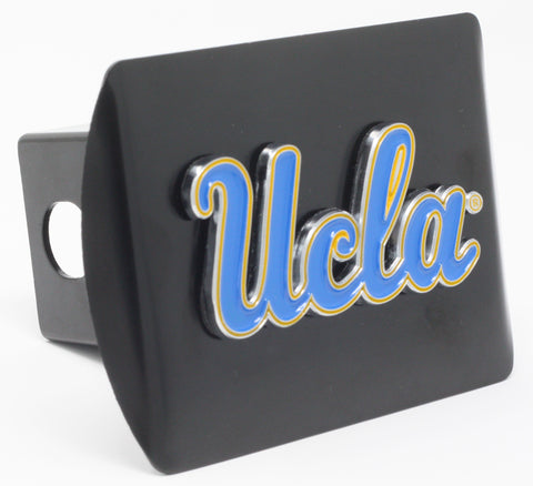 "California - Los Angeles (UCLA) Color Metal Hitch Black 3.4""x4"""
