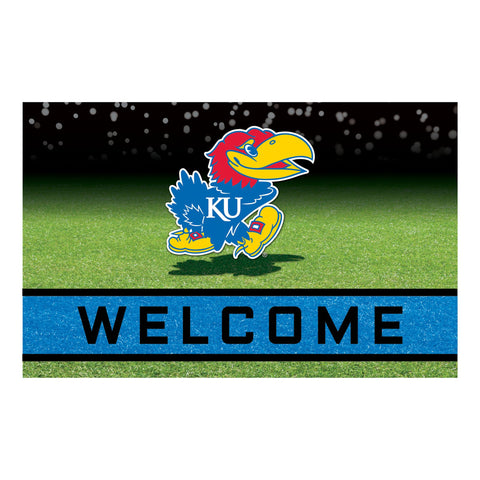 University of Kansas Crumb Rubber Door Mat