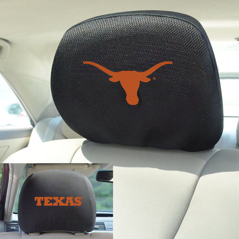 University of Texas Head Rest Covers