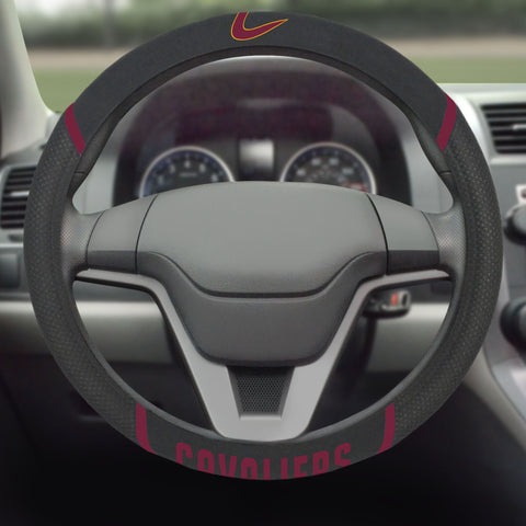 "Cleveland Cavaliers Steering Wheel Cover 15""x15"""