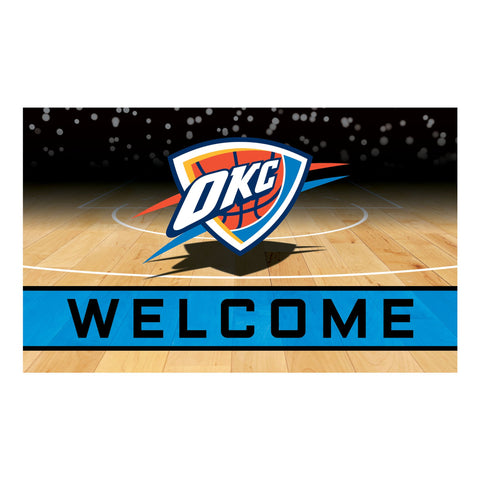 Oklahoma City Thunder Crumb Rubber Door Mat