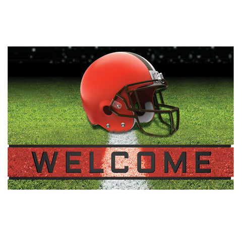 Cleveland Browns Crumb Rubber Door Mat
