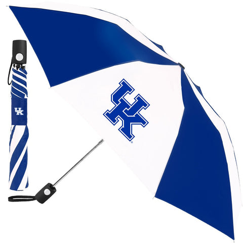 Kentucky Wildcats Compact Auto Folding Umbrella