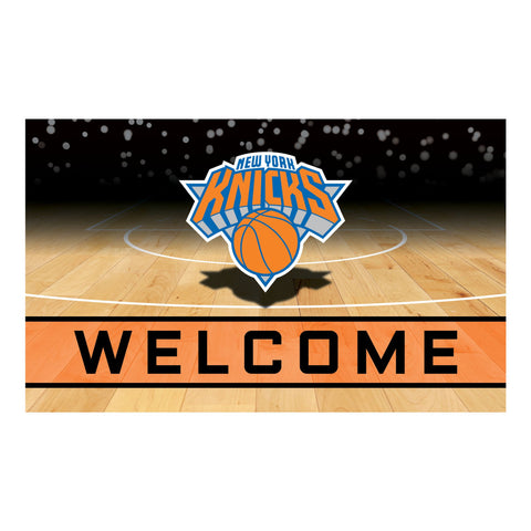 New York Knicks Crumb Rubber Door Mat