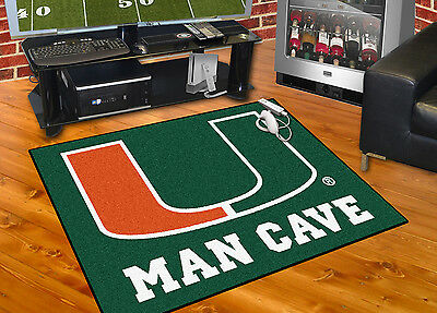 University of Miami Man Cave All-Star Model 14665