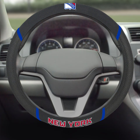 "New York Rangers Steering Wheel Cover 15""x15"""