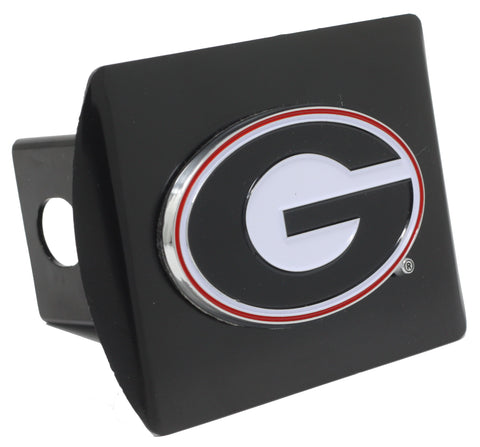 "Georgia Color Metal Hitch Black 3.4""x4"""