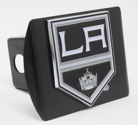"Los Angeles Kings Color Metal Hitch Black 3.4""x4"""