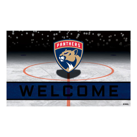 Florida Panthers Crumb Rubber Door Mat