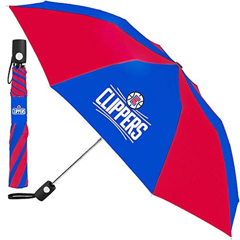 Los Angeles Clippers Compact Auto Folding Umbrella