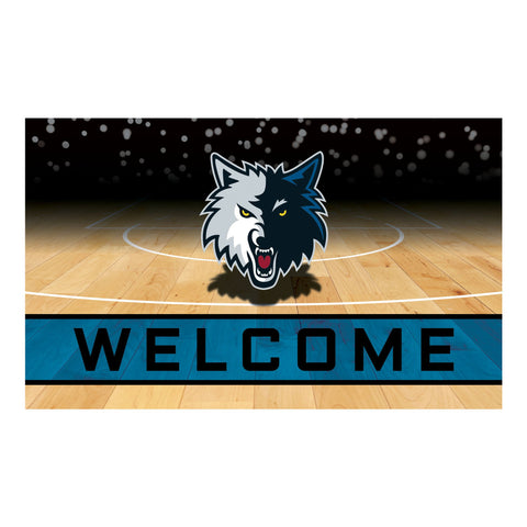 Minnesota Timberwolves Crumb Rubber Door Mat