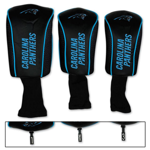 McArthur Sports NFL Carolina Panthers - Blue Golf Club Head Covers