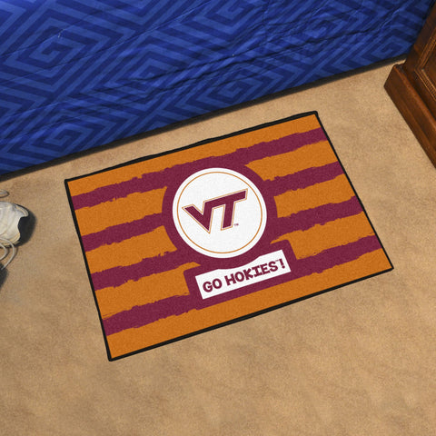 "Virginia Tech Southern Style Area Rug 19""x30"""