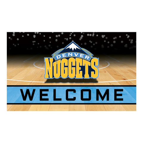 Denver Nuggets Crumb Rubber Door Mat