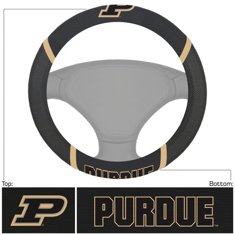 Purdue Embroidered Steering Wheel Cover