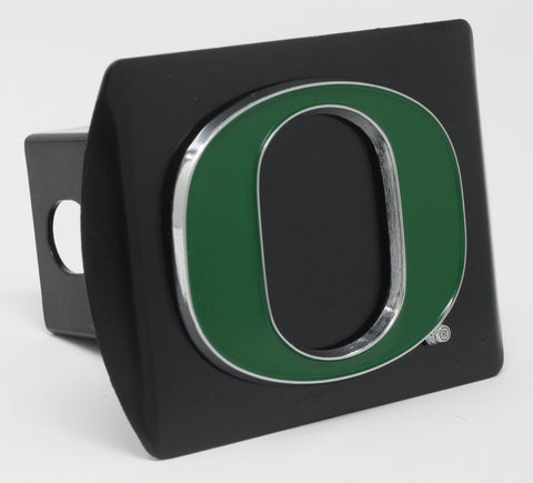 "Oregon Color Metal Hitch Black 3.4""x4"""