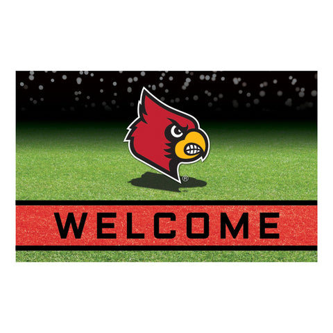 University of Louisville Crumb Rubber Door Mat