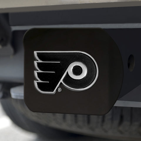 "NHL - Philadelphia Flyers Black Hitch Cover 4 1/2""x3 3/8"""