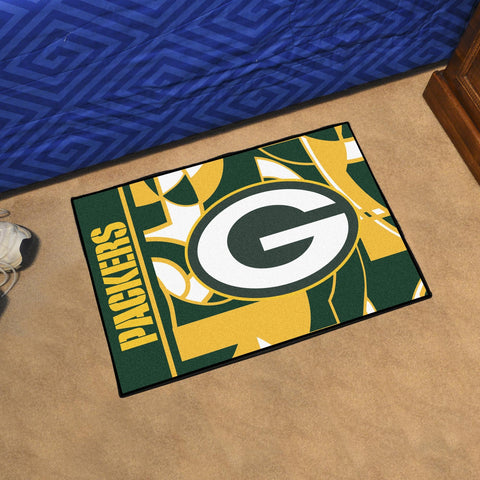 Green Bay Packers Quick Snap Starter Mat Area Rug