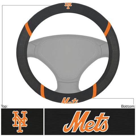 MLB - New York Mets Embroidered Steering Wheel Cover
