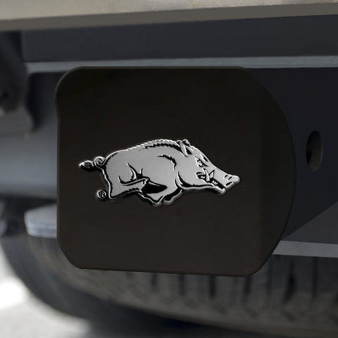"Arkansas Black Hitch Cover 4 1/2""x3 3/8"""