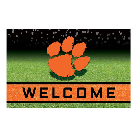 Clemson University Crumb Rubber Door Mat
