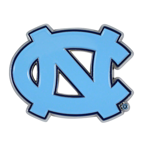 "North Carolina - Chapel Hill Color Metal Emblem 2.6""x3.2"""
