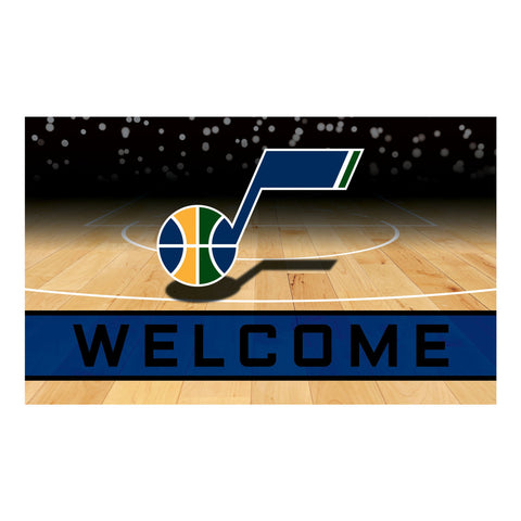 Utah Jazz Crumb Rubber Door Mat