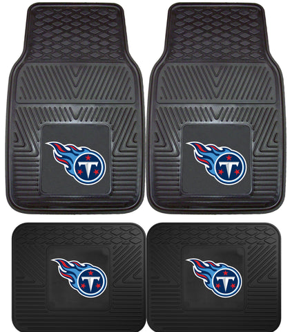 Tennessee Titans 2 and 4 Piece Car Floor Mat Sets