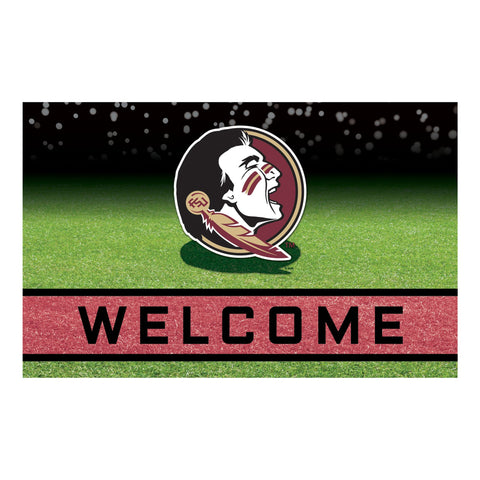 Florida State University Crumb Rubber Door Mat
